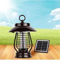 Светодиодный солнечный Москитная Убийца лампа ночник Водонепроницаемый USB Перезаряжаемые для внутреннего Открытый вредителей Управление