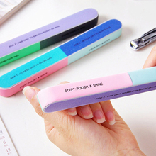 Buffer Manicure Manicure Remover Creative Printing File Sanding Sand Six Side Polishing File Attachment Tool Buffer A00190XX