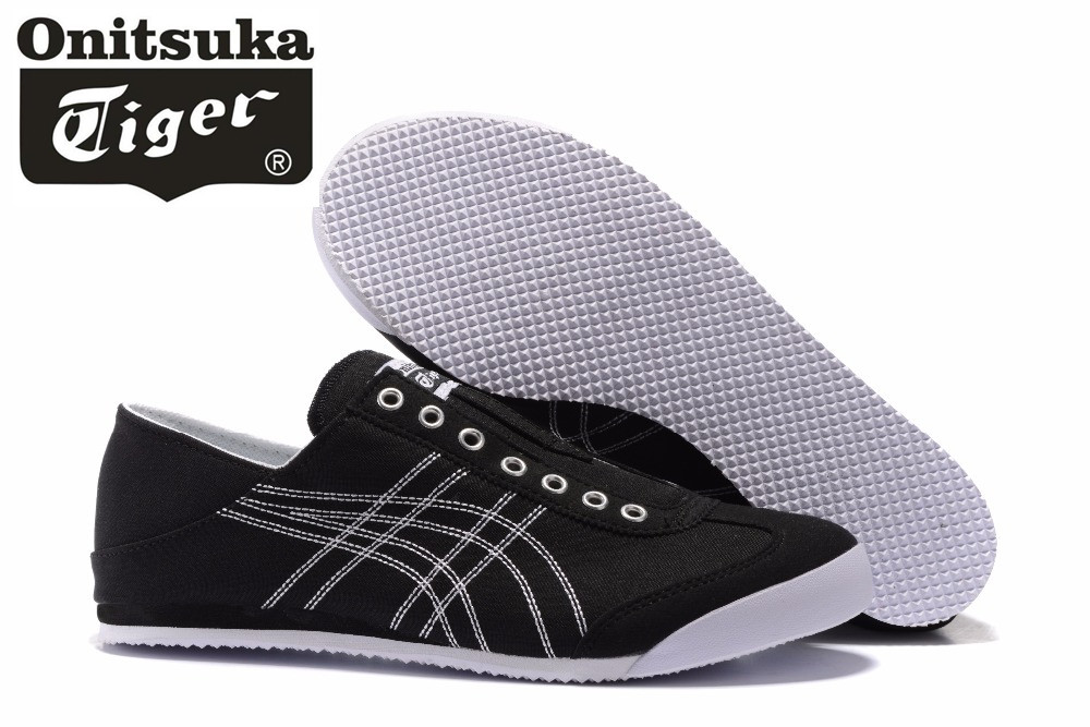 low priced 66864 4bd2d US $44.99 10% OFF|2017 ONITSUKA TIGER Gel Mid Runner Classics leather Shoes  Men Women Sneakers Badminton Shoes Size 36 44-in Badminton Shoes from ...