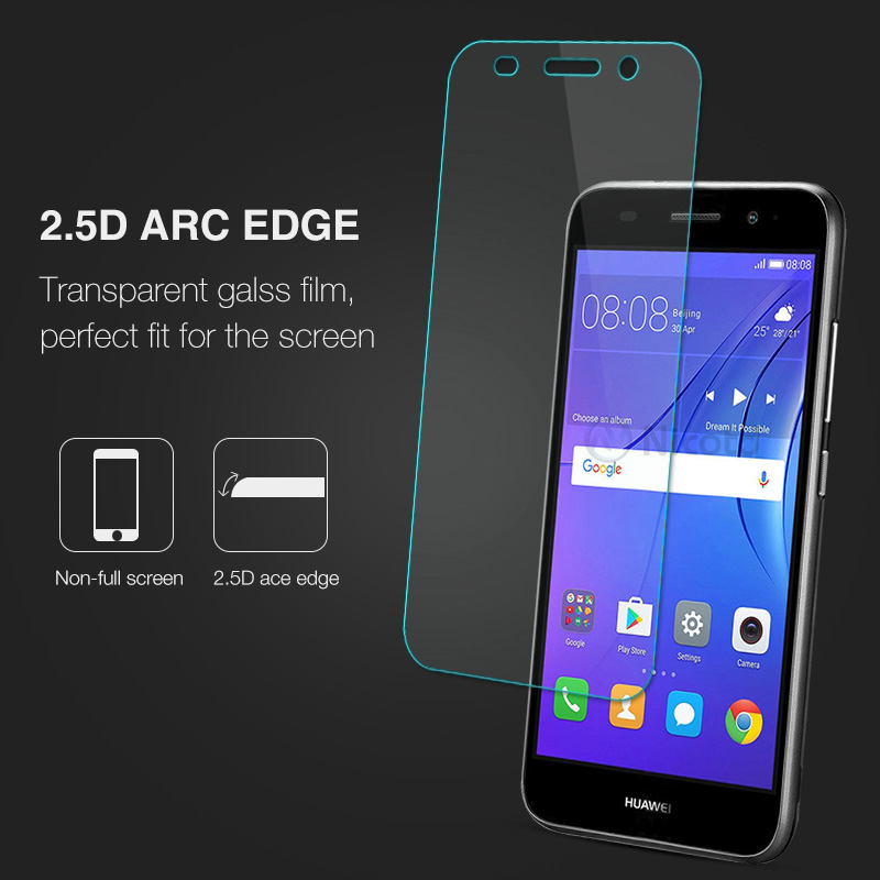 Image 5 - For Huawei Y3 2017 Tempered Glass For Huawei Y3 2017 CRO U00 CRO L02 CRO L22 CRO L03 CRO L23 Screen Protector Protective Film-in Phone Screen Protectors from Cellphones & Telecommunications