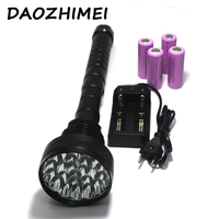 38000 lumens 24 *XM T6 LED High power 5 Modes flashlight Torch Working lamp floodlight light camping lantern+battery+Charger