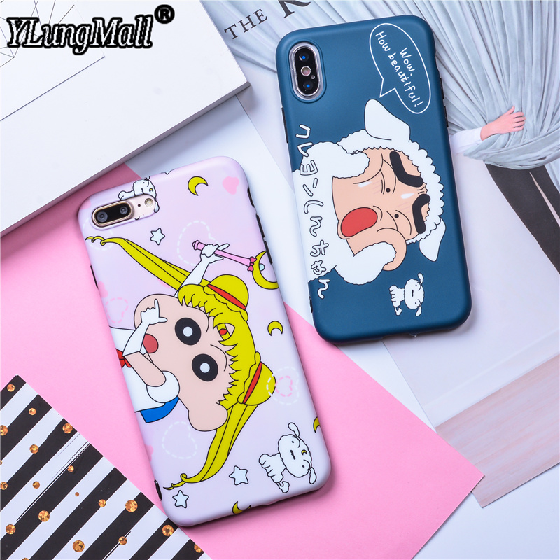 Crayon Shinchan Case For IPhone 6 6S 7 8 Plus Case