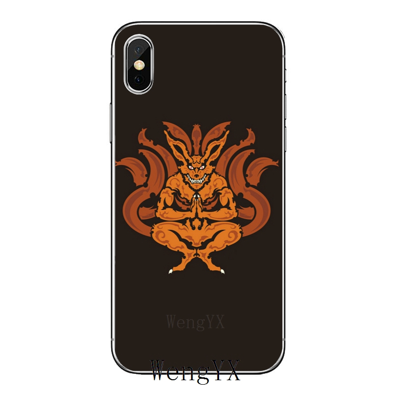 Naruto Seal Shiki Fujin silicone TPU Soft phone cover case For Huawei Honor 4C 5A 5X 5C 6 Play 6X 6A 6C pro 7X 8 9 Lite V8 V10