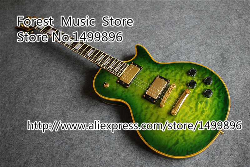custom logo lp custom electric guitars china quilted finish mahogany guitar body for sale in. Black Bedroom Furniture Sets. Home Design Ideas
