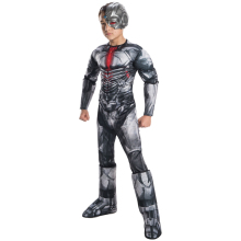 Boys Justice League Deluxe Cyborg Kostym