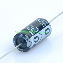 10pcs 25V 250uf Axial Electrolytic Capacitor for Audio Guitar Tube Amp DIY