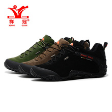 High Quality Mens Leather Sport Outdoor Hiking Trekking Shoes Sneakers For Men Sport Climbing Mountain Shoes Man Scarpe