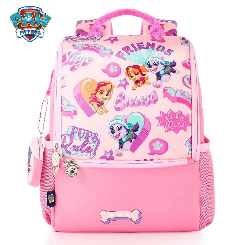 2019 Paw Patrol Kids Waterproof Backpack School Knapsack Action Figure Chase Skye Badge Boys Kindergarten Primary School Mochila