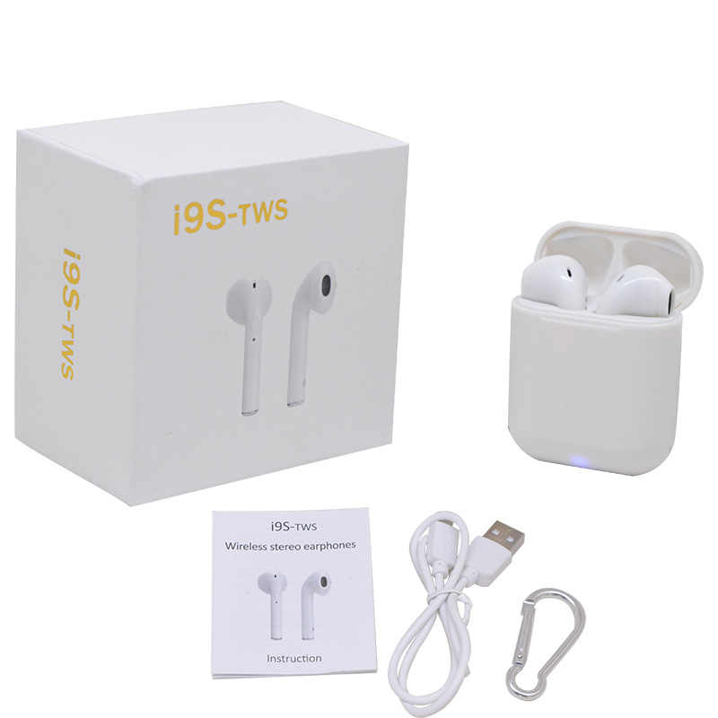 40b720830bb ... I9S TWS Wireless Earphone Portable Bluetooth Headset i7s tws Earbud In- Ear for iPhone X ...