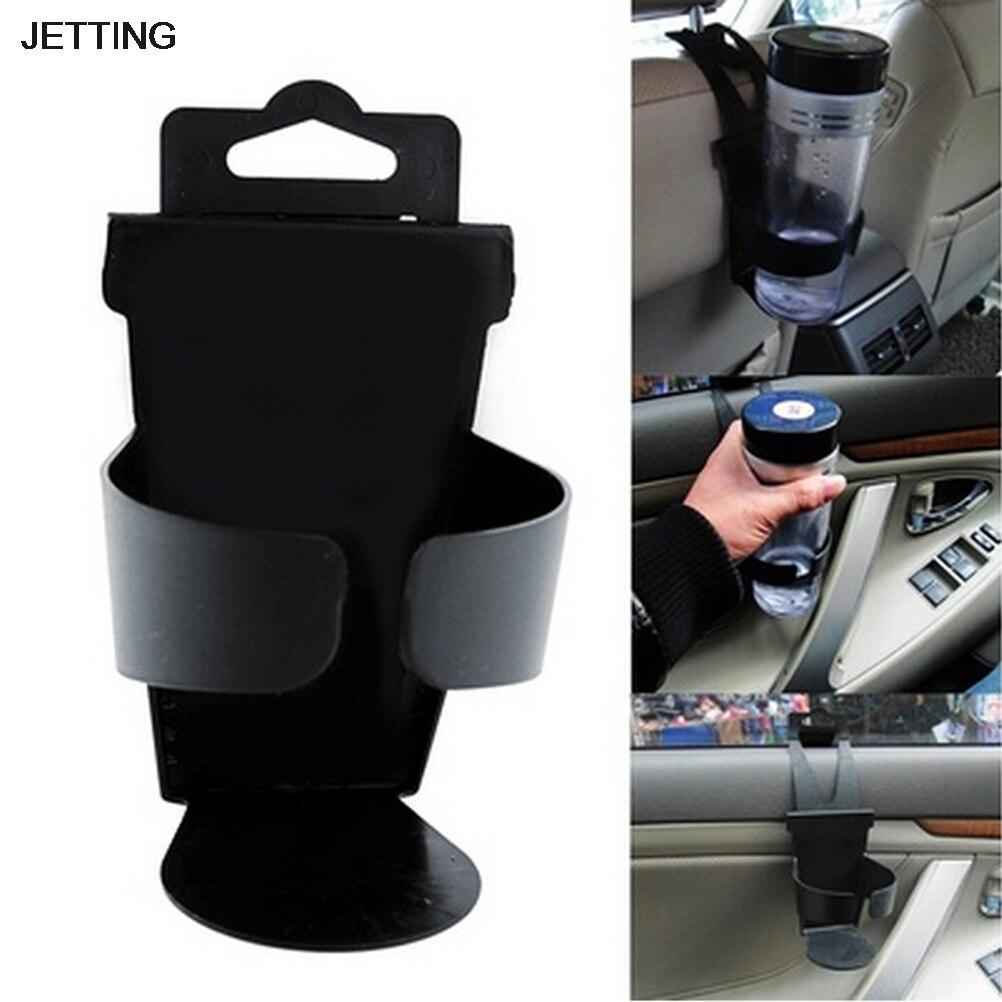 Black New Universal Door Seat Clip Mount Drink Bottle Cup Holder Car Truck Boat car universal mini outlet holder mount w back clip for lg g3 black