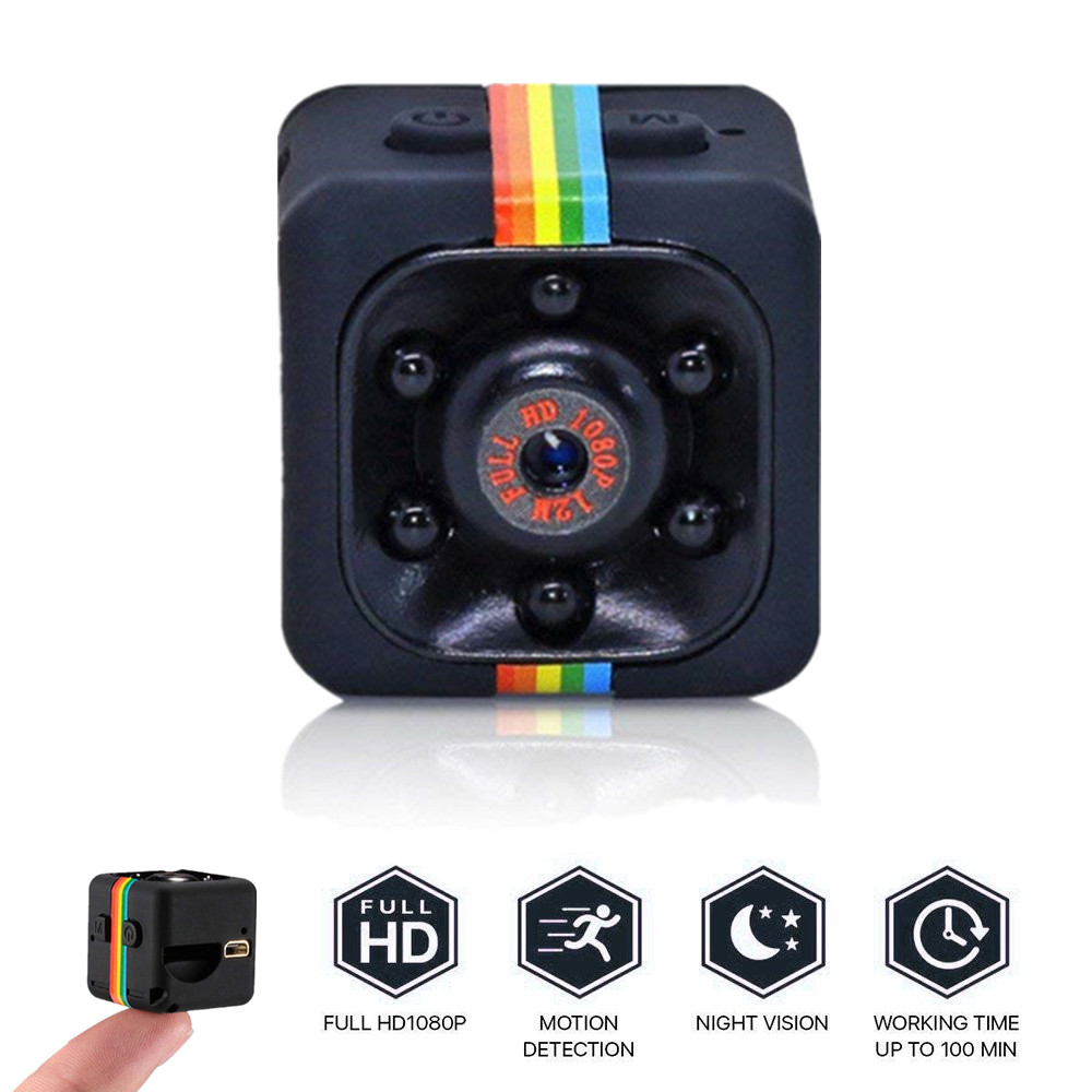 SQ11 Mini Camera Camcorder DVR Small Night-Vision 1080P Cam-Sensor HD