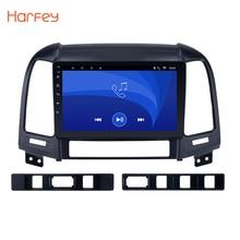 Harfey Android 6.0 Car GPS Multimedia Navi Stereo Player  For HYUNDAI SANTA FE 2005 2006 2007 2008 2009 2010 2011 2012 with WIFI