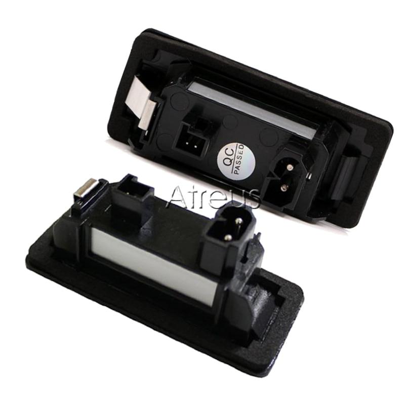Atreus automobilsko LED registarsko svjetlo za BMW E39 E60 M5 E90 E82 - Svjetla automobila - Foto 2