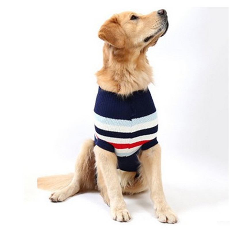 Fashion Comfortable Large Christmas Clothing Pet Pullovers Male Dog ...