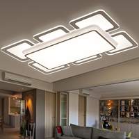 Modern LED Ceiling Lights Fixtures Factory Outlet Acrylic Luminaire Simplicity Ultra Thin Ceiling Lamp For Dining