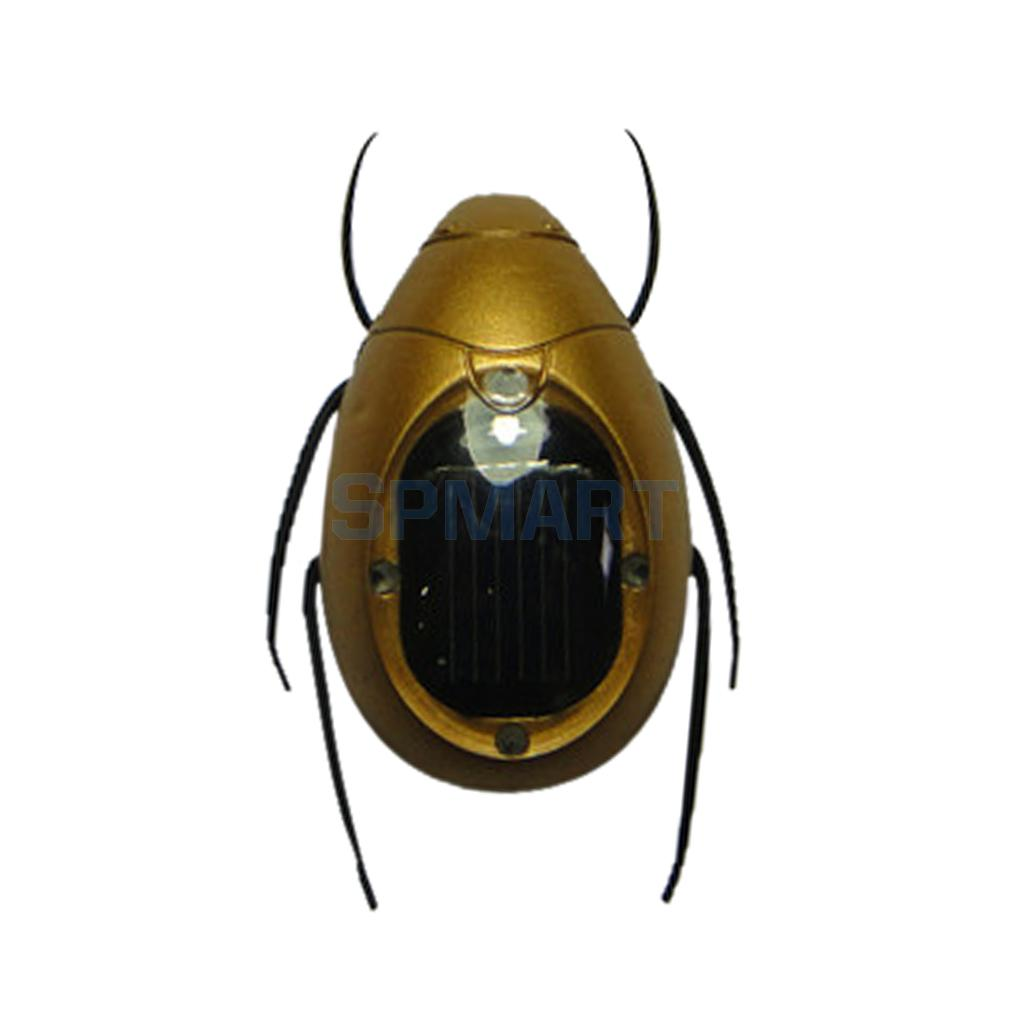 Popular Solar Scarab Novelty Solar Powered Insect Animal Model Kids Play & Learn Educati ...
