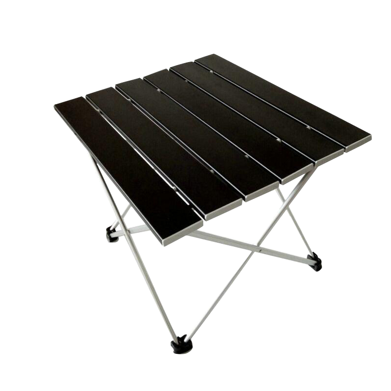 цена на SUFEILE Camping Picnic Outdoors Tea Barbecue Table Folding Outdoor Computer Desk Aluminum Alloy Portable Folding Able Desk D20