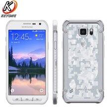 Оригинальный Новый мобильный телефон Samsung Galaxy S6 Active g890a 5,1 «Octa Core 3 ГБ оперативная память 32 ГБ Встроенная 2560 x 1440px 16.0MP Android