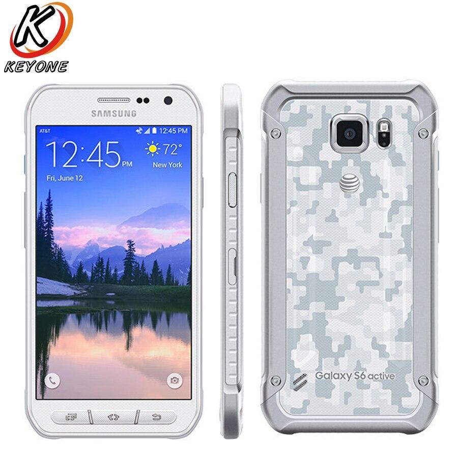 Original Nouveau Samsung Galaxy S6 Actif G890A Téléphone Portable 5.1 Octa Core 3 gb RAM 32 gb ROM 2560 x 1440px 16.0MP Android Téléphone Portable