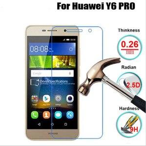 Image 3 - Bộ 2 Kính Cường Lực Cho Huawei Y6 PRO Tấm Bảo Vệ Màn Hình Kính Cường Lực Cho Huawei Y6 Kính Cường Lực Pro Glass Dành Cho Huawei Y6 Pro 2016 Màng Bảo Vệ
