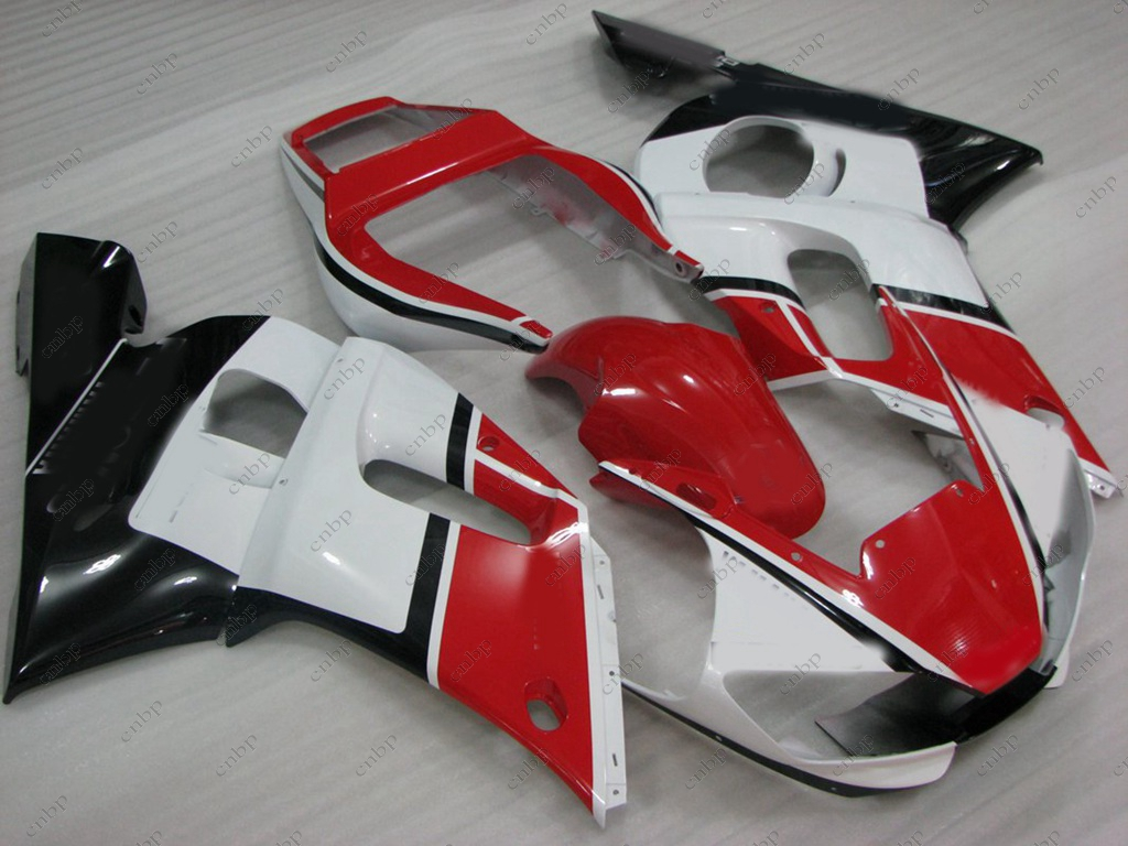 Fairing Kits YZF R6 1998 Fairings for YAMAHA YZFR6 98 99 1998 - 2002 Red White Black Motorcycle Fairing YZF600 R6 01 02