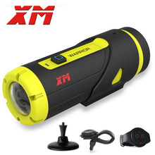 XM H 265 1080P HD Waterproof Sports Action Camera 16GB SD Card 3400Amh Battery Wifi Video