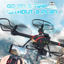 JJRC H11WH 2 4G 4CH 6 axis Gyro WiFi FPV Quadcopter RTF Aircraft RC Drones with
