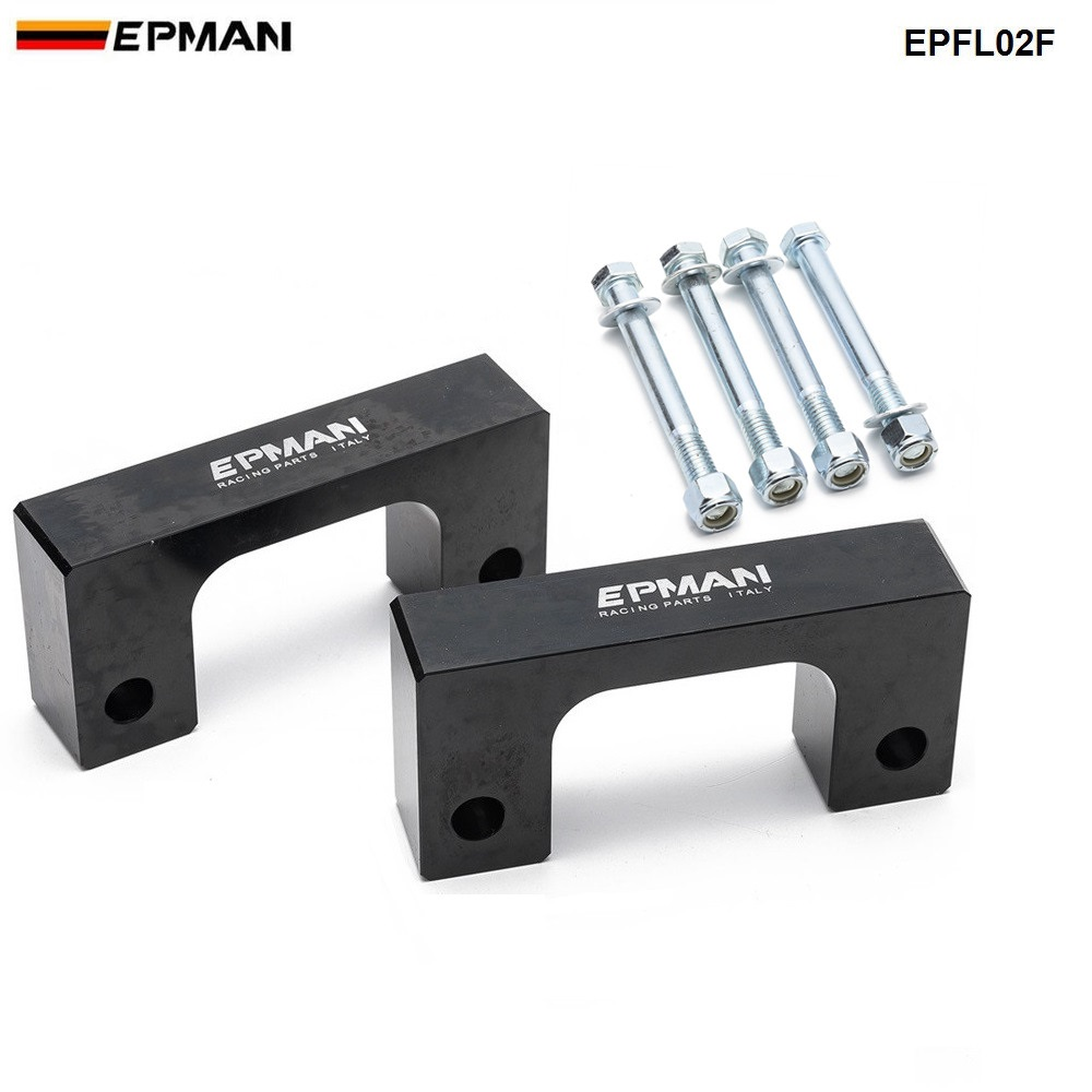 Epman Racing 2 Front Leveling lift kit for Chevy Silverado 2007-2017 GMC Sierra GM 1500 EPFL02F image