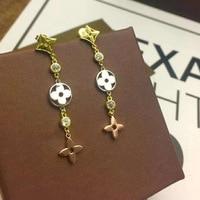 Di alta Qualità di Marca Monili di Cerimonia Nuziale orecchini Per Le Donne Orecchini Color Oro Madre accessori Moda