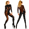SEXY WOMEN VAMPIRE COSTUME Cosplay Dominatrix Fancy Bodysuit Goth Plus Size S-XL +free shipping