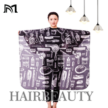 Hairdresser Capes Salon Barber Cutting Hair Waterproof Cloth Salon Barber Gown Cape Hairdressing Hairdresser Hair Dresser Cape 1 pcs random color best new sketch hair salon cutting barber hairdressing cape for haircut hairdresser apron cutting hair capes