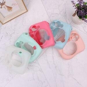 Image 5 - Cute Soft Silicone Camera Bag Jelly Case Skin Cover For Fujifilm Instax Mini 8/8+/9