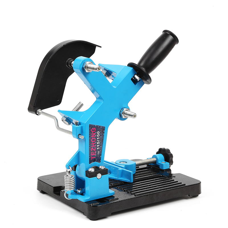 115 150 Angle Grinder Stand Angle Cutter Support Bracket Holder Dock Cast Iron Base Holder Power