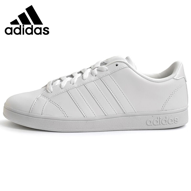 reputable site 51c76 5cde4 free shipping original new arrival adidas neo baseline mens leather low top  skateboarding shoes sneakerschina 2beda