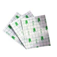 100 шт/лот медицинская Прозрачная Клейкая пластырь дышащая водостойкая