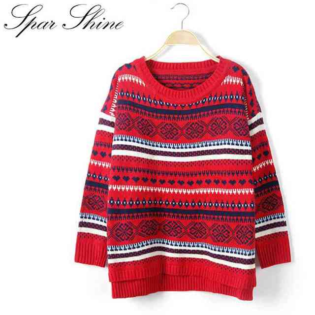 Hot Selling New Arrival Women's Sweater Wool Female Round Neck Pullover Knitwear Cotton Sweater Long Sleeve Warm Top