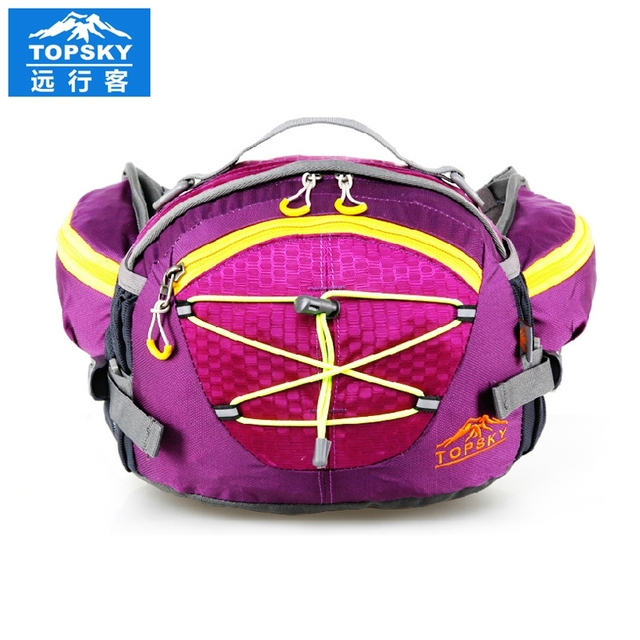 Topsky 8L travelling cycling waist bag pack fanny pack sports bag Waterproof women bag sports belt bag men mochilas handbags