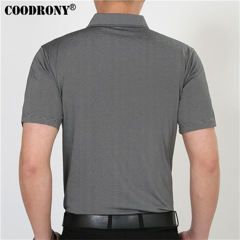 Free Shipping Short Sleeve T Shirt Cotton Clothing Men T-Shirt With Pocket Casual Dress Factory Wholesale Plus Size S XXXXL  4