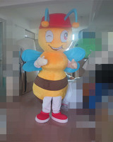 Latest high quality Real Pictures! Deluxe EVA Material Ant Mascot Costume Holiday special clothing