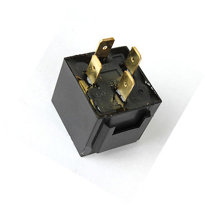 10pcs 4 post car relay in box Type JD1912 12V 40A waterproof car relay 12v 40a 4 modified car with cable