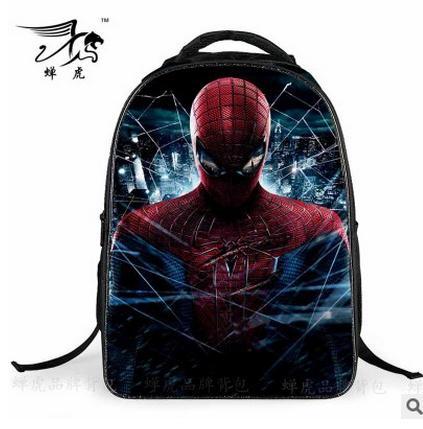 2018 новый мультфильм супергерой Человек-паук Рюкзаки для детей Школьные ранцы Основной Рюкзак Обувь для мальчиков сумка Mochila