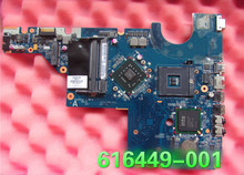 616449-001 laptop motherboard For HP CQ62 G62 G72 Notebook PC System board / main board intel DDR2 100% tested