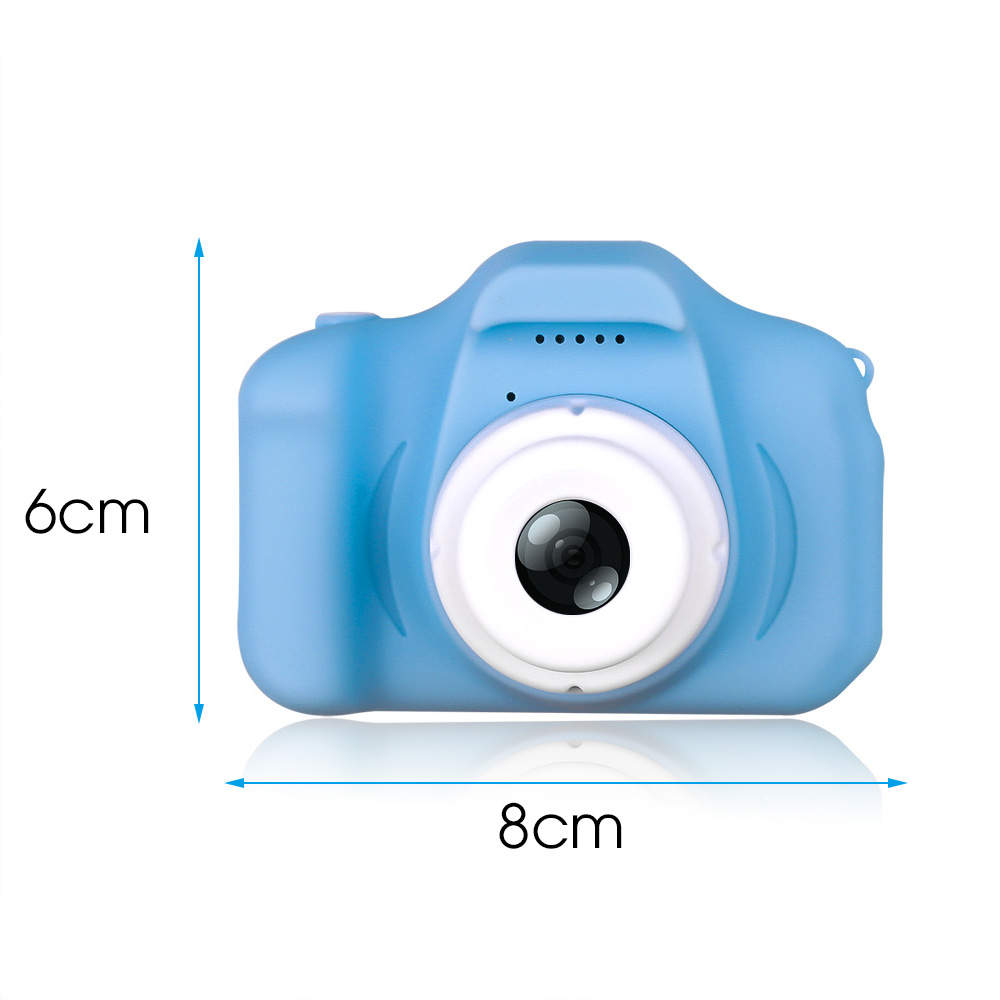 Kebidu new Mini HD Cartoon Kids Camera Taking Pictures Language game Digital Photo Camera HD gifts for boys and girls