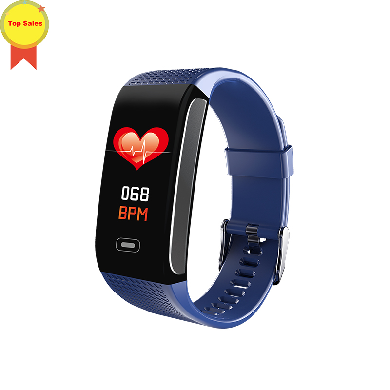 new CK18S Smart Band Fitness Bracelet Tracker Pedometer Wristband Blood Pressure Heart Rate Wrist Watch Android IOS PK CK11S in Smart Wristbands from Consumer Electronics