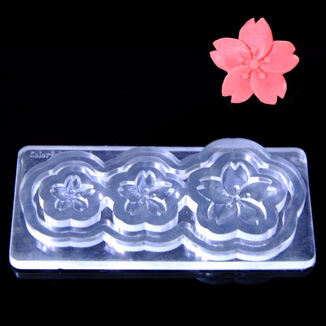 3D Nail Mold Durable Mold Acrylic Nails Tips Decoration DIY Design ...