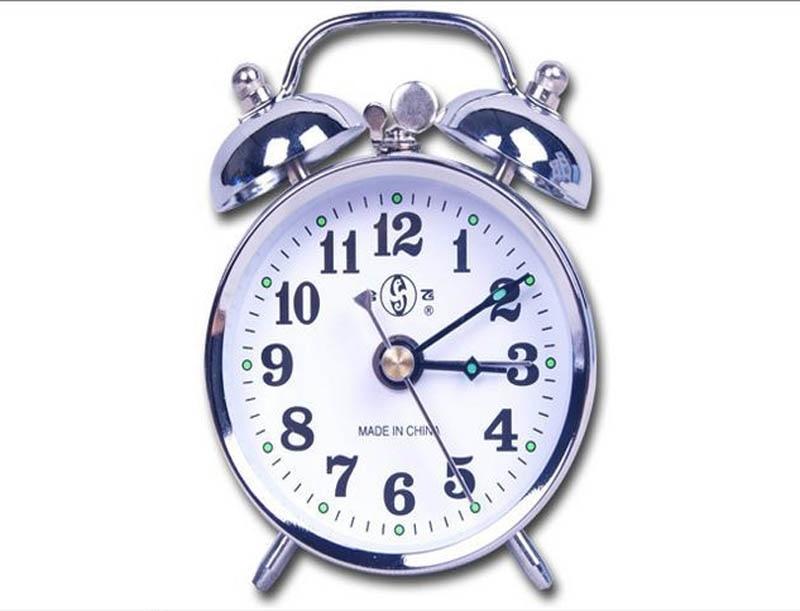 Smoking set Mechanics alarm clock