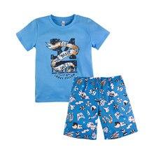 Пижама футболка+шорты для мальчика ''Тату'' BOSSA NOVA 384Б-161з