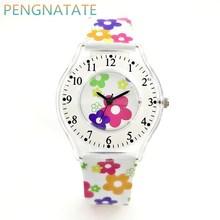Mujeres de la manera Reloj WILLIS Marca Ocio Cuarzo Reloj de Señoras Del Reloj Ultrafino Impermeable Reloj de Silicona Banda Relojes PENGNATATE