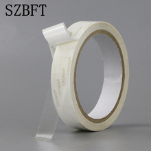 SZBFT 1.2CM-6CMX10M Strong ultra thin transparent PET high temperature double-sided adhesive tape  paper недорого