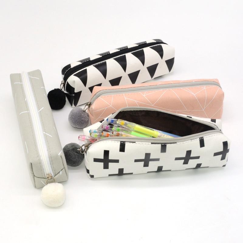 pencil case kawaii High capacity school supplies capacidad bag papeleria material lapiz etui pennen estuche piornik kalem kutusu
